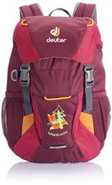 Deuter Kinder Kinderrucksack Waldfuchs, Blackberry-Magenta, 35 x 25 x 15 cm, 10 Liter, 361001550530 - 1