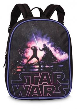 Disney Star Wars Kinder Rucksack Duell Vader Tasche schwarz Kindergartentasche - 1