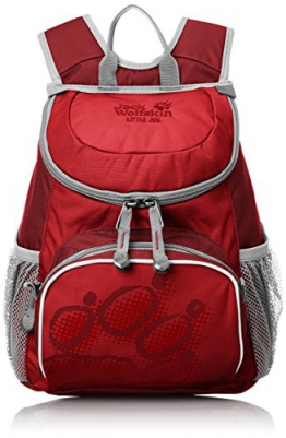 Jack Wolfskin Kinder Rucksack Little Joe, Red Fire, 31 x 26 x 23 cm, 11 Liter, 26221-2590 - 1