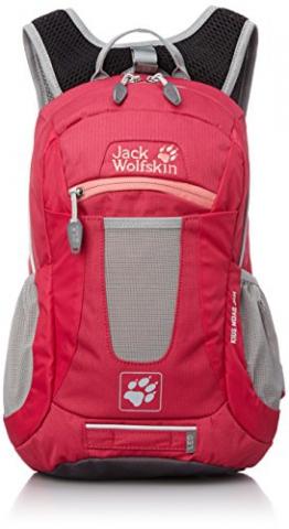 Jack Wolfskin Kinder Rucksack Moab Jam, Azalea Red, 40 x 28 x 7 cm, 10 Liter, 2000851-2081 - 1