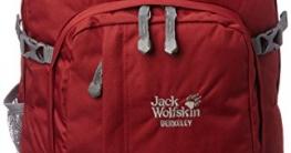 Jack Wolfskin Rucksack Berkeley, Dried Tomato, 44 x 37 x 3 cm, 30 Liter, 25300-2056 - 1