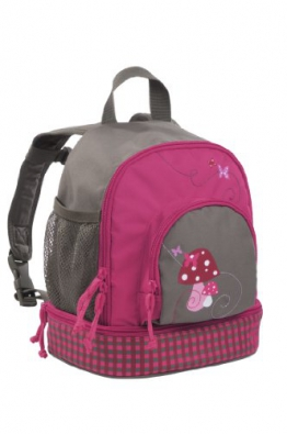 Lässig LMBP128 - Kinderrucksack Mini Backpack Mushroom, magenta - 1