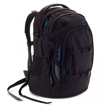 Satch by Ergobag – Schulrucksack Black Bounce