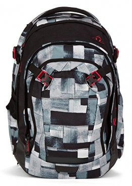 Satch by Ergobag Schulrucksack Match City Fitty 999 grau melange - 1