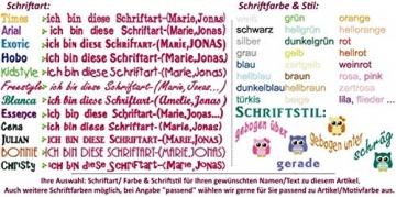 Schule,Kindergarten Kinder-Rucksack Tasche (groß) mit NAMEN & Motiv bestickt