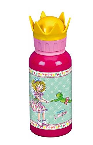 Mini-Ranzen Prinzessin Lillifee 3tlg. Set mit Alu-Trinkflasche und Brotdose z.B. für den Kindergarten