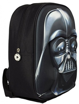 Star Wars - 3D Junior-Rucksack - Darth Vader (Größe ca. ) [UK Import] - 1