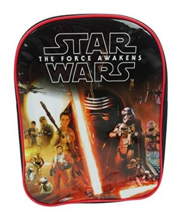 Star Wars Episode 7  Kinder-Rucksack, Schwarz - 1